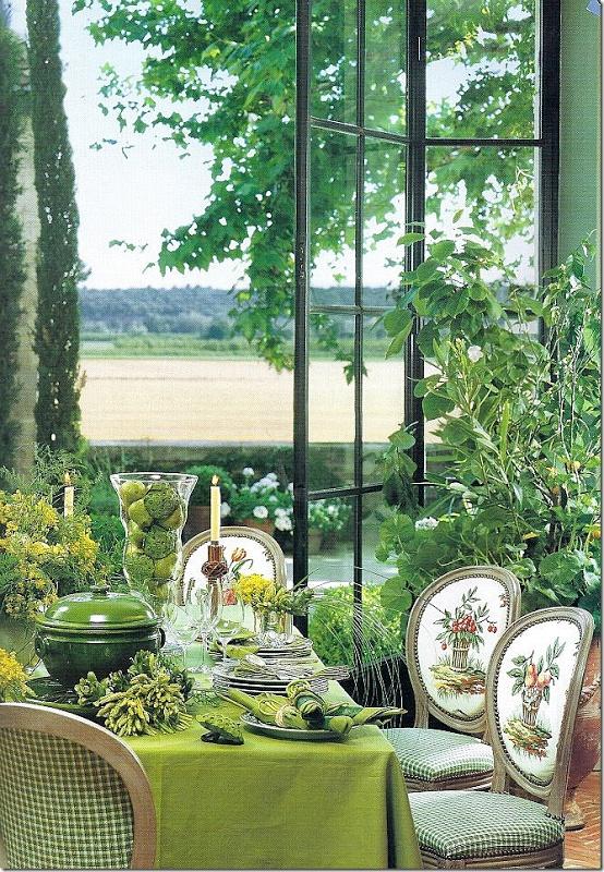 The orangery - Ginny Magher Provence home Mas de Baraquet