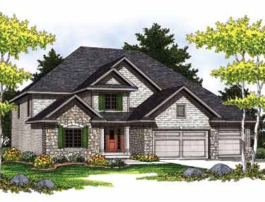 European inspiration hwbdo13314 european house plan for Builderhouseplans com