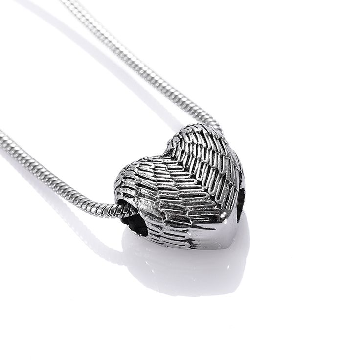 US $8.30 CJJ 2017 New Arrive 316L Stainless Steel Feather Heart Cremation Pendant Hold Pet Ashes Keepsake Memorial Urn Necklace for Men #2017 #Arrive #316L #Stainless #Steel #Feather #Heart #Cremation #Pendant #Hold #Ashes #Keepsake #Memorial #Necklace