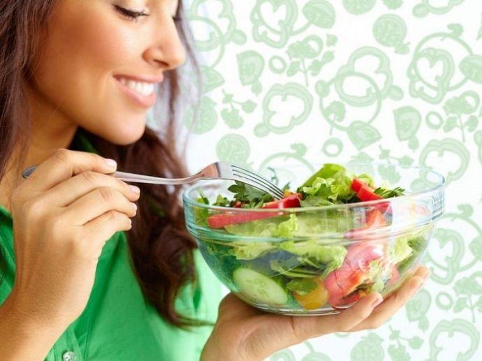 Правильные продукты для здоровья женщины