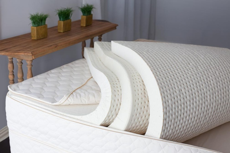 Savvy Rest natural latex mattresses can be customized with Soft, Medium or Firm layers of natural Dunlop and/or natural Talalay latex. The Serenity model (pictured) has three layers, but we also offer two- and four-layer mattresses.    How do you Savvy Rest?Rest Mattress, Rest Nature, Nature Mattress, Nature Latex, Rest Organic, Latex Mattress, Firm Layered, Savvy Rest, Organic Mattress