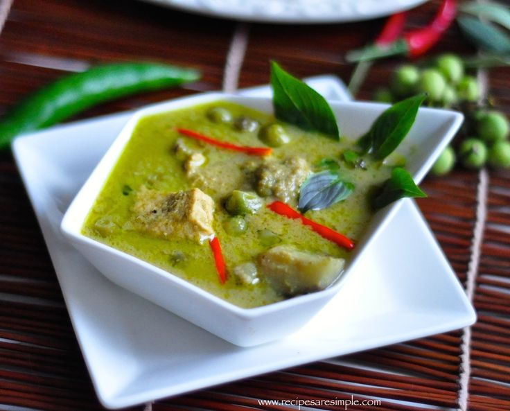 17 best ideas about authentic thai green curry on pinterest | thai
