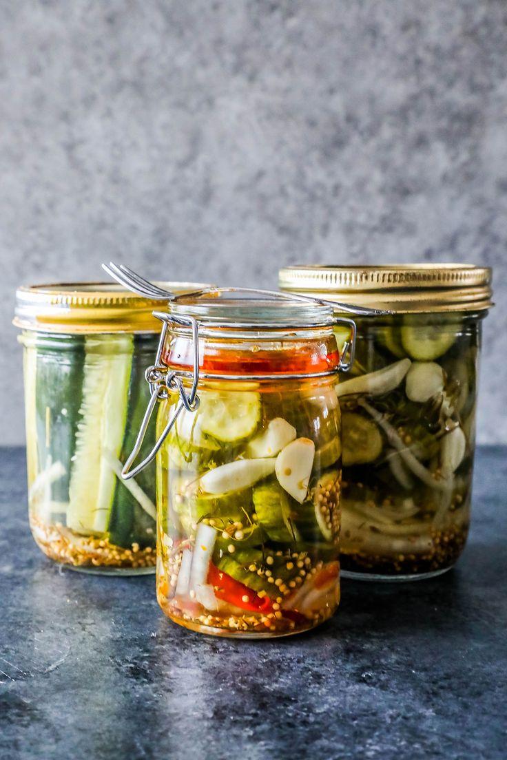 10 Minute Fridge Pickles - Sweet C's Designs