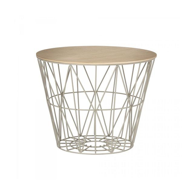 Corbeille Wire Gris Small Ferm Living