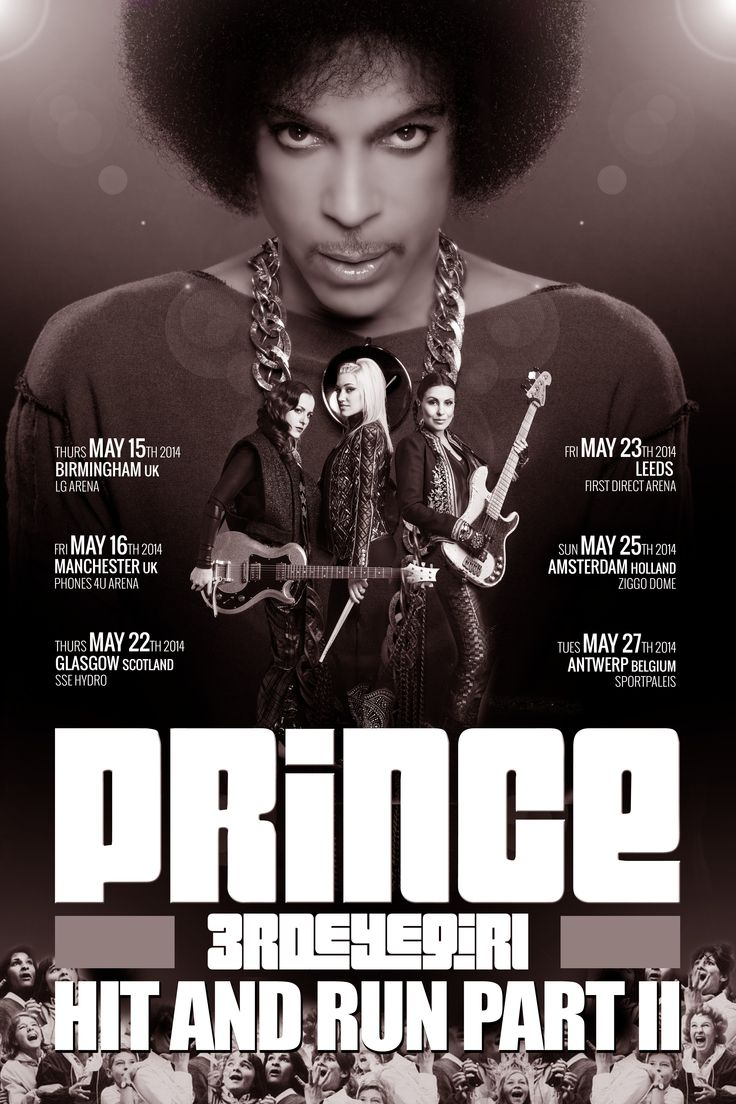 prince concert posters - Google Search