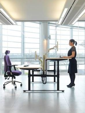 Isaac Sit Stand Bench - Product page: http://www.genesys-uk.com/Isaac-Sit-Stand-Bench.Html  Genesys Office Furniture Homepage: http://www.genesys-uk.com  The Isaac Sit/Stand Bench is designed to simplify and encourage regular changing of your work position, which makes it a highly reliable sit/stand system designed to enhance your wellbeing and maximise efficiency.