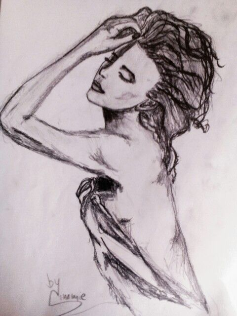 #pencil #drawing #sketch #woman