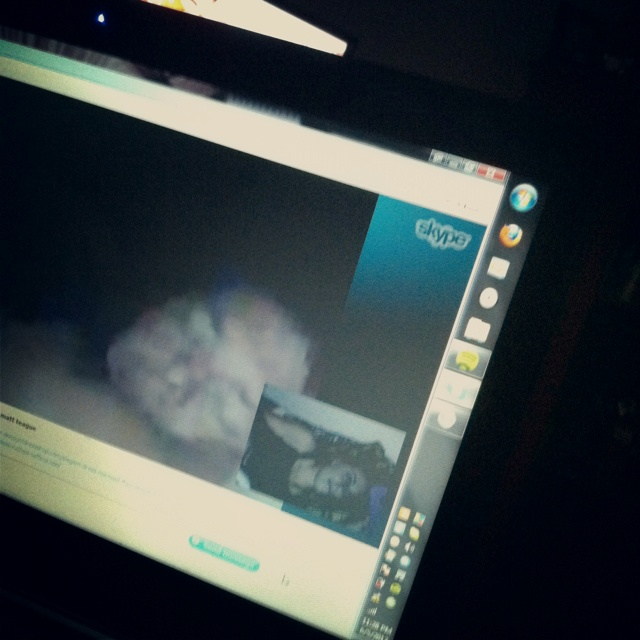 Nothing like Skype dates <3