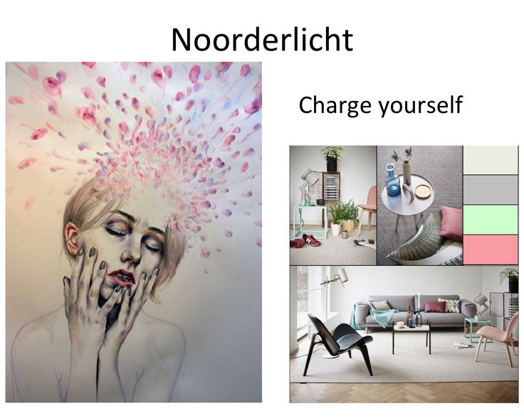 Woonmodetrend stijlkamer 1.  Trend event Charge Yourself
