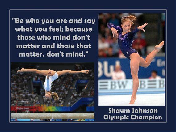 Poster Gymnastics Shawn Johnson Olympic by ArleyArtEmporium, $11.99