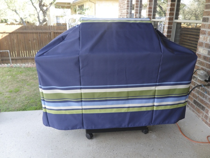Remake Dry Rotted Grill Cover Using Remanent Sunbrella