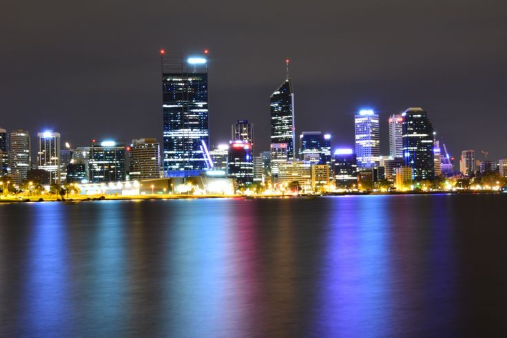 Perth, Western Australia. About 3am