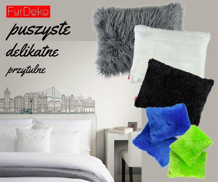 Niezwykłe poduszki FurDeko są...