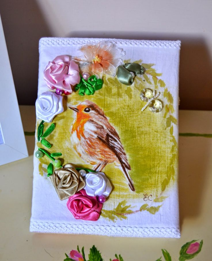 Dipingere su Tessuto:             Notebook      Care amiche ...