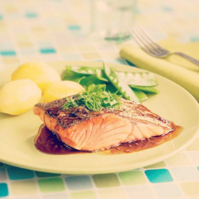 Hora de almorzar! #salmón #gourmet #healtyfood #marecosta