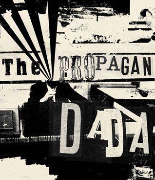Micosch Holland: The Propogandada www.kidsofdada.com/products/the-propogandada-1 #art #affordableart #collage