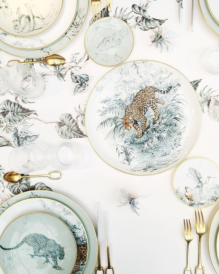 Latest Interiors Porcelain Skin: €�Discovered The Beautiful New Jungle-inspired Porcelain