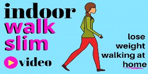 Indoor Walking Workout – Walk yourself slim at home with this realtime full leng…