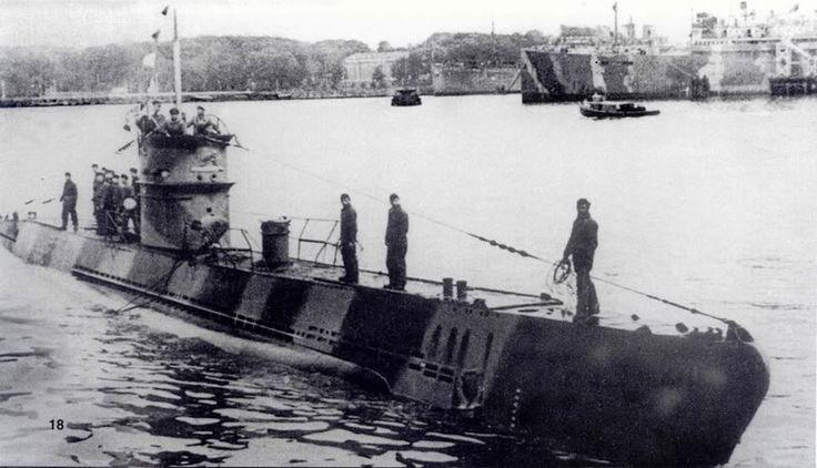 U-140 (Type IID) | U-Boats (1903-1945) | German submarines ...