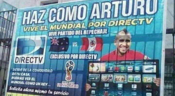 En Perú todavía se ríen porque Chile no se clasificó al Mundial de Rusia