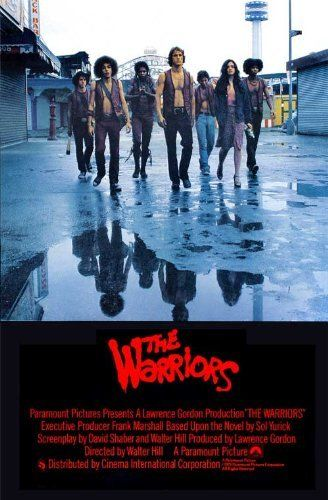 """""""Warriors....Come out and play-yay."""" I adore this movie. Watched it so many times with my cousin. A definite favorite."""