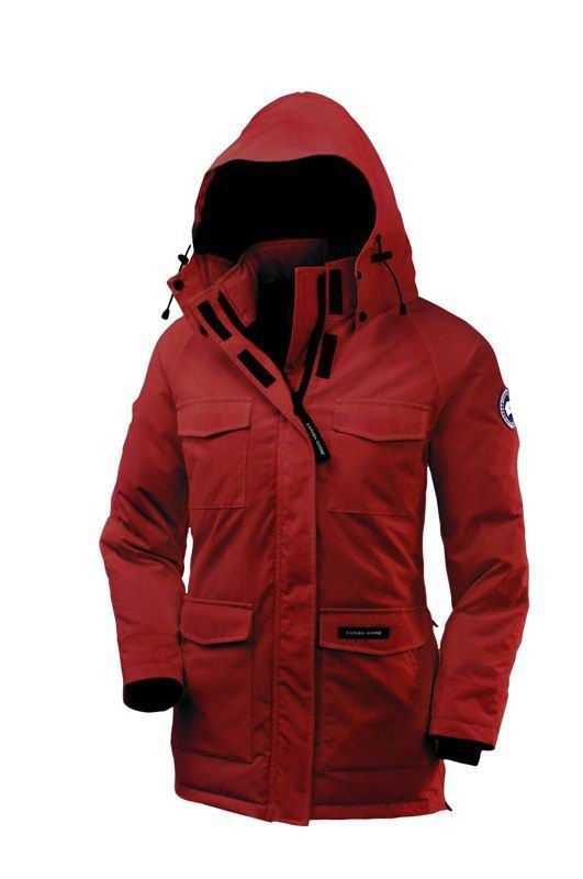 Canada Goose kids sale price - Red Canada Goose Women's Constable Parka - warm and visible, be ...