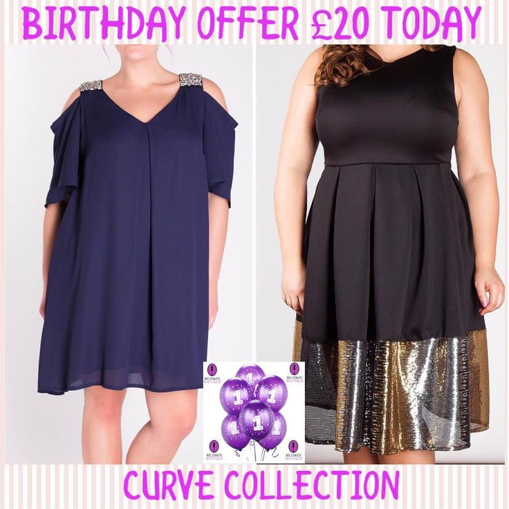 BIRTHDAY OFFER 20  Curve Collection sparkly dress only 20 today to celebrate our 1 year of business.  www.blinginboutique.co.uk #blinginboutique #dresses #curvecollection #curves #plussize #dress #fashion