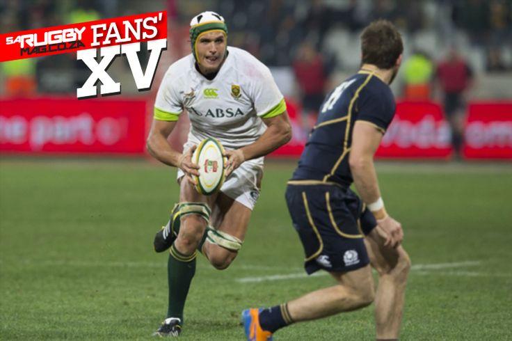 Juandré Kruger for Springbok Fans' XV rugby team? | #SARugby magazine