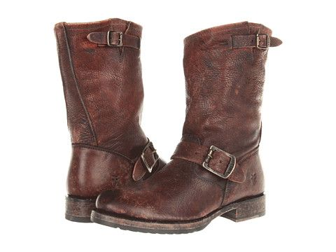 Frye Veronica Short Dark Brown Stone Antiqued - 6pm.com