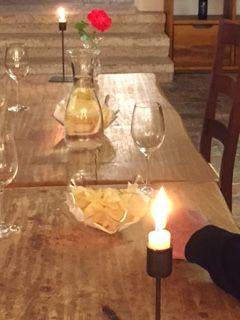 Im fürstlichen Weinkeller, natürlich mit Stil