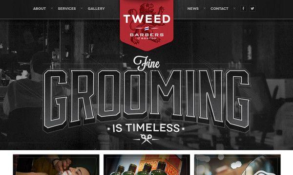 Dominating Bold Type in Website Design: New Examples - Designmodo