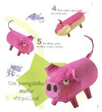varken / pig craft preschool                                                                                                                                                     Más