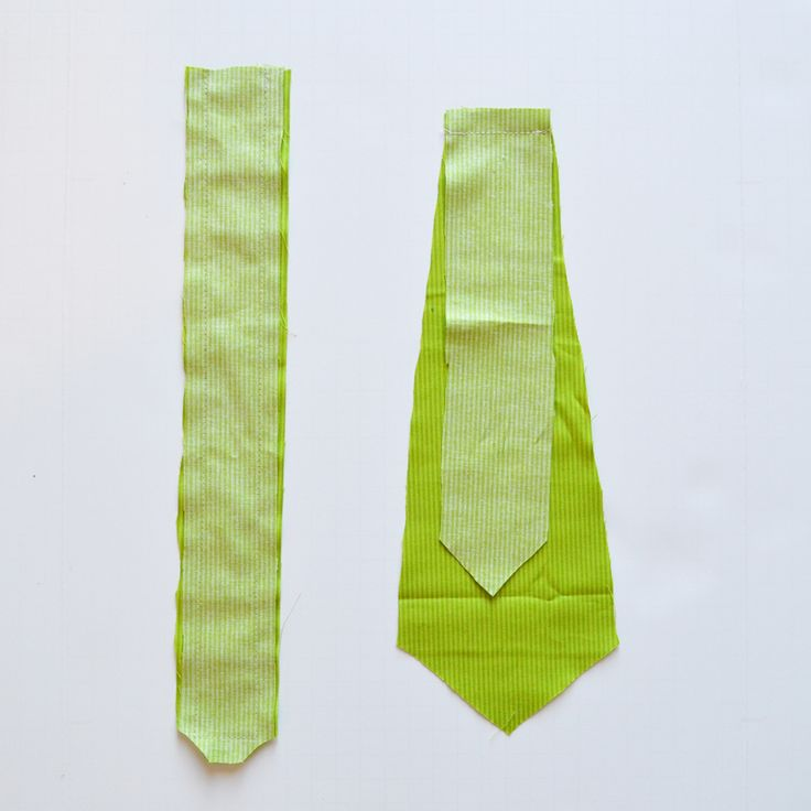 A free pattern and tutorial for how to sew a baby necktie tie | The DIY Mommy