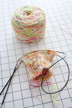 Tricoter des tubes de petit diamètre