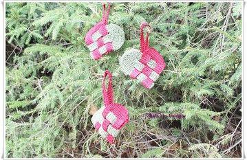 Heklede julekurver. - Fra kosekroken. - Chris-Ho.com