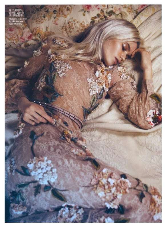 dreamy {Abbey Lee Kershaw in Vogue China May 2012}