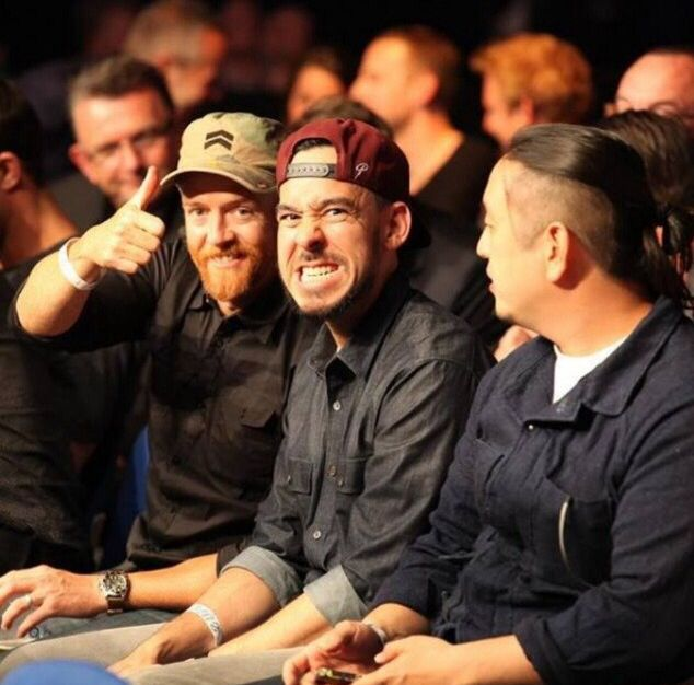 Linkin park / Phoenix, Joe Hahn, and Mike shinoda / I love them