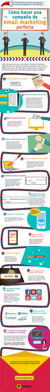 Hola: Una infografía sobre Cómo hacer una campaña de email marketing perfecta. Vía Un saludo