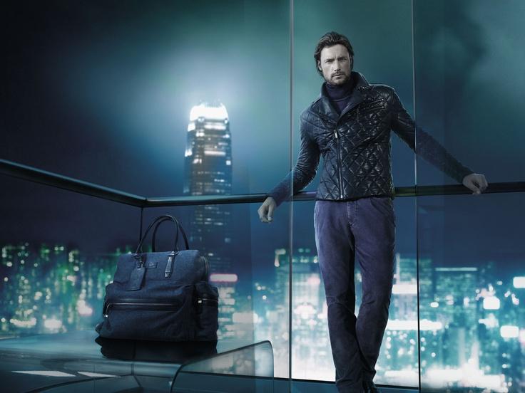 BOSS Selection fall 2012 campaign featuring model Gabriel Aubrey.