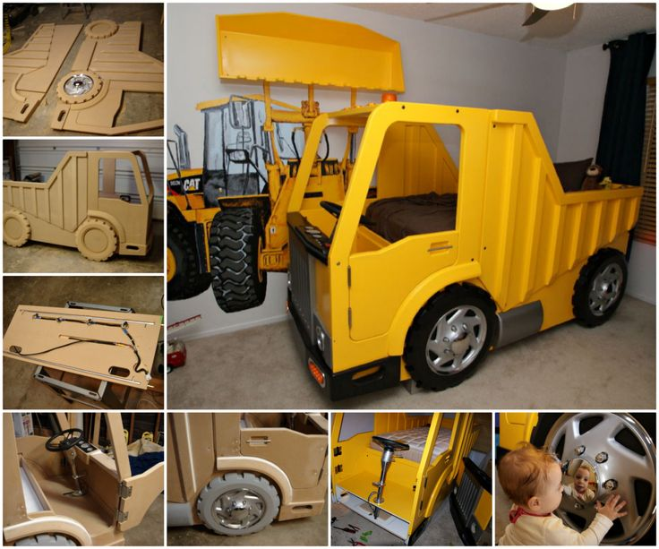 Dump Truck Bed Tutorial