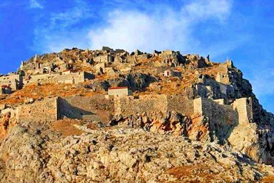 Pera Castle, Chora, Kalymnos, Greece