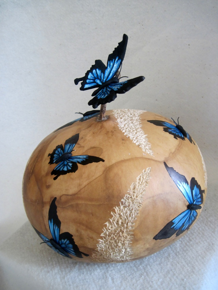 96 best gourds butterfly images on pinterest gourd for Where to buy gourds for crafts