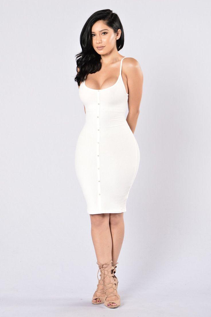Ginger Dress - Ivory