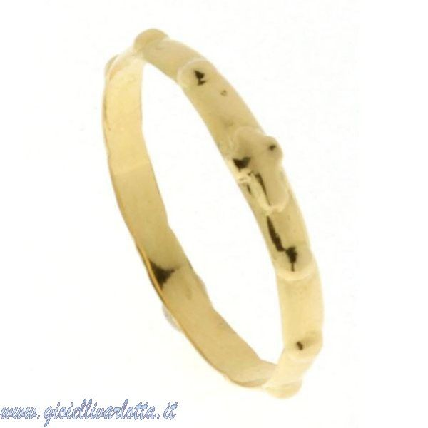 http://www.gioiellivarlotta.it/product.php?id_product=1338 Anello Rosario in Oro Giallo lucido