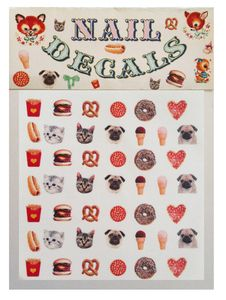 Nail Decals - Puppy Kitty Snack Pack   @Yanyao Nees - How great are these?!
