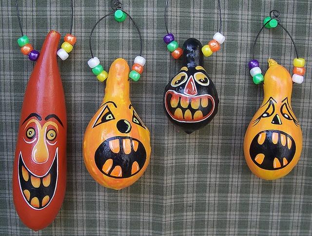 halloween gourds by Regina Moore, via Flickr