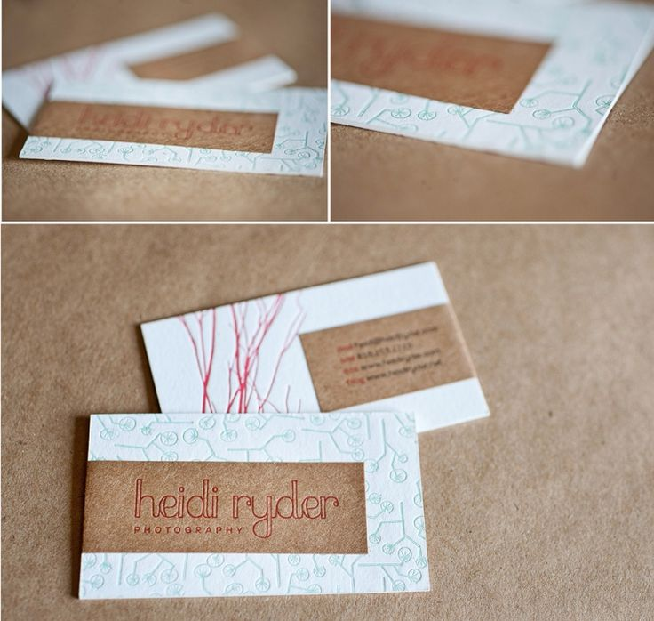 Love these business cards! | Heidi Ryder Photography: The Blog