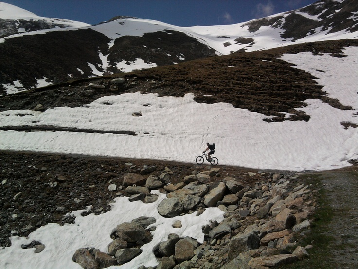 MTB riding up to Sellery at #Coazze, Turin, Italy
