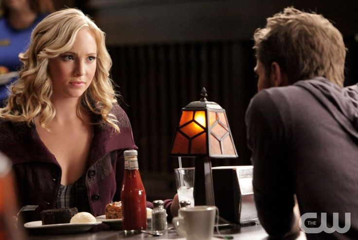"""""""Katerina"""" (L-R) Candice Accola as Caroline, Paul Wesley as Stefan on THE VAMPIRE DIARIES on The CW.   Quantrell D. Colbert/The CW  ©2010 THE CW NETWORK. ALL RIGHT RESERVED."""