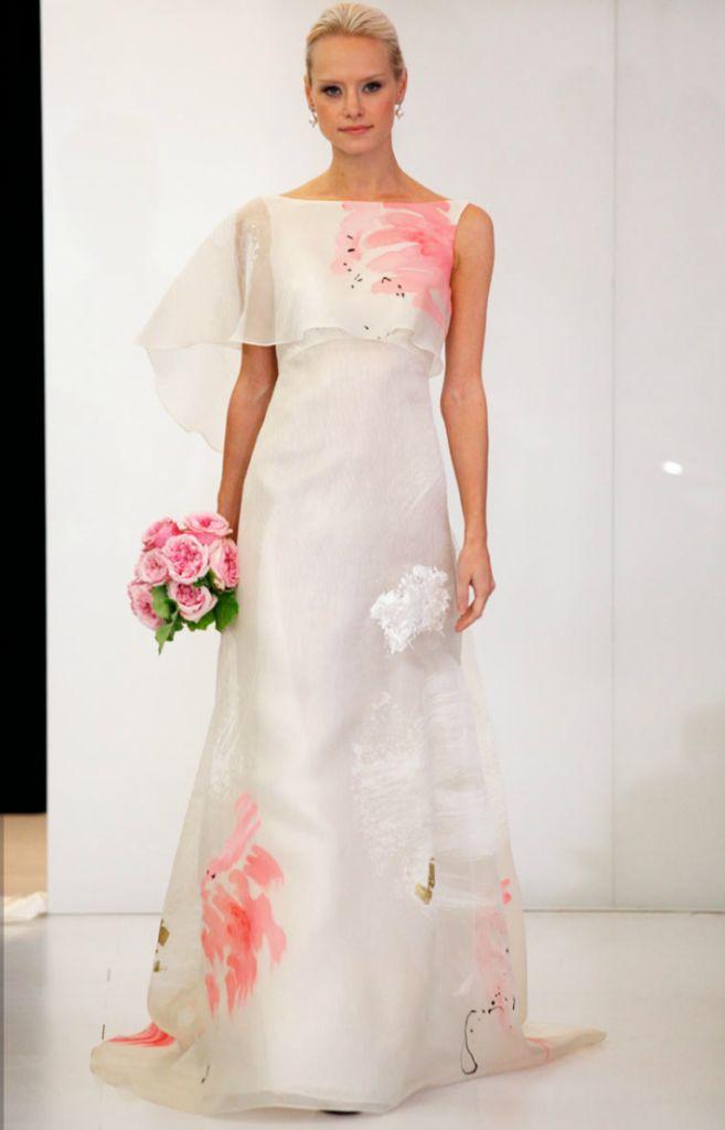 Floral Print Wedding Dress <3